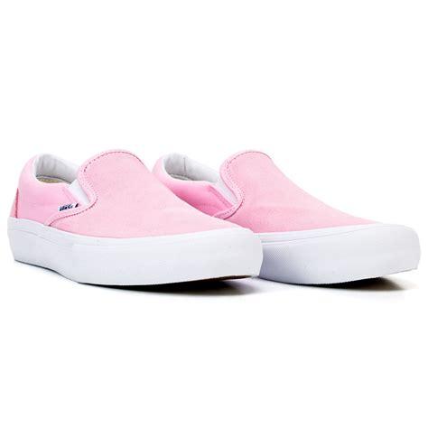 Slip On Pink vans slip on pro shoe pink at skate pharm
