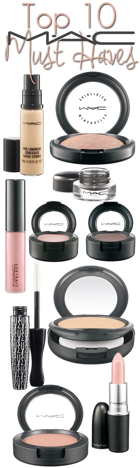 Top 7 Must Mac Products by Top 10 Mac Cosmetics Must Haves Beautiful Makeup Search