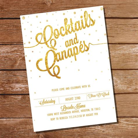 cocktail party invitation cocktail party invitations party invitations templates