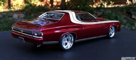 Starsky And Hutch Car Name 74 Ford Torino Restomod Of The Starsky And Hutch Scaledworld