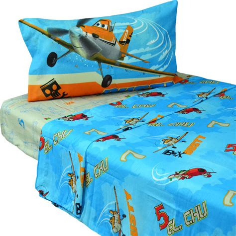 Planes Bedding Set Disney Planes Bed Sheet Set Dusty Crophopper Bedding Contemporary Bedding By