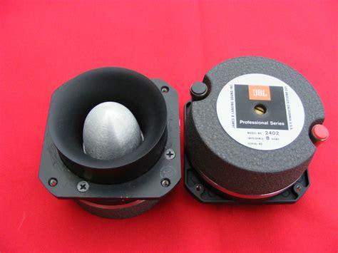 Speaker Tweeter Mobil Jbl vintage jbl bullet tweeter driver speaker 2402 pair jbl
