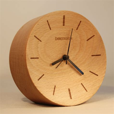 wood clock beladesign wood desk unique design free shipping bedroom
