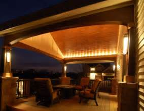 Covered Patio Lighting Ideas Lighting Ideas For Outdoor Gardens Terraces And Porches