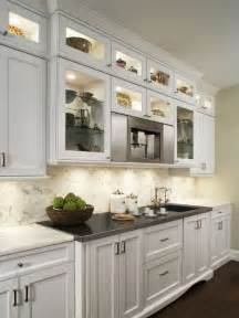 White Bookcase With Glass Doors Best Upper Cabinet Lighting Design Ideas Amp Remodel