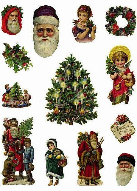imagenes de navidad victorianas imprimolandia recortable cromos pinterest cromos