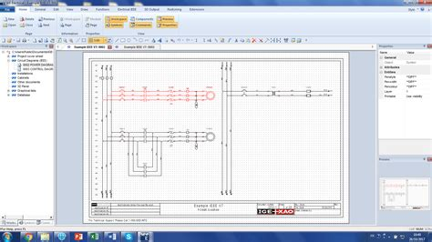 electrical drawing software electrical design software