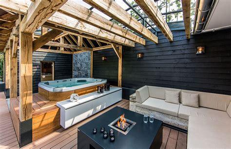 patio interior jacuzzi backyard jacuzzi designs pool design ideas