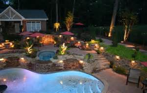 outdoor lighting installation costs install repair deck patio lights landscape yard lawn low