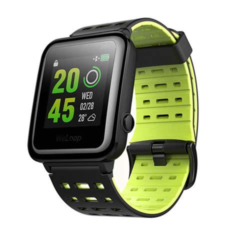 Smartwatch Weloop Buy Weloop Hey 3s Gps Smartwatch Green In Canada Price