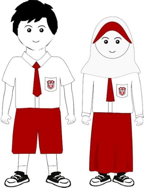 Seragam Merah Putih Sd sd negeri 2 jatipurwo jatipurno