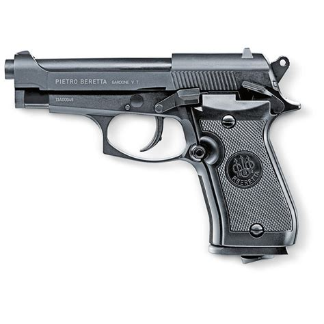 Korek Pistol Baretta Black beretta 174 m84fs 177 cal air pistol matte black 588684