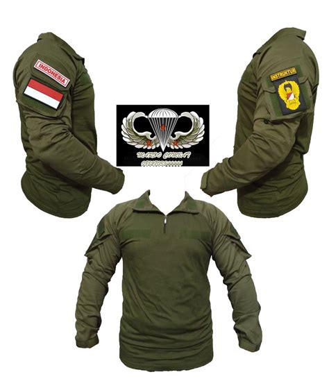 Kaos Bdu Kaos Tactical Kaos Combad Kaos Lengan Pendek jual combat shirt baju kaos kemeja tactical tni ad od di