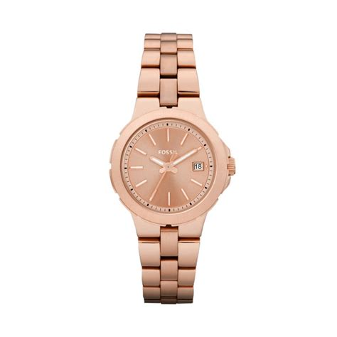 Fossil Es 3841 Rosegold 4 fossil gold all that glitters