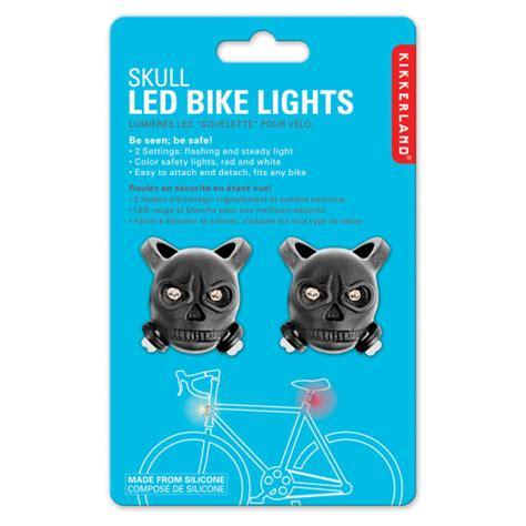 novelty lights discount code skull bike lights gifts zavvi