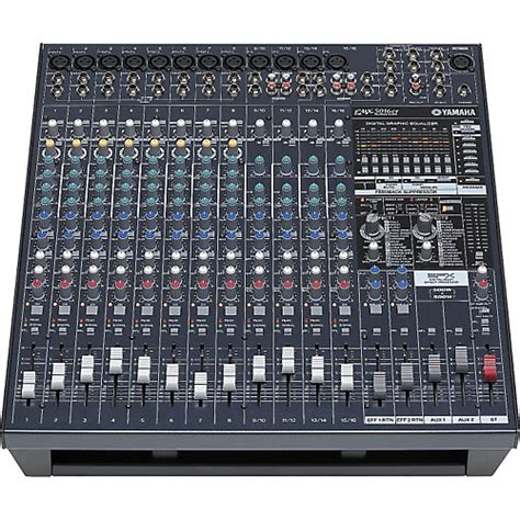 Power Mixer Audio Seven yamaha emx5016cf 16 input powered mixer with dual 500 watt