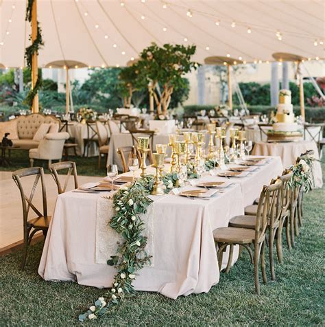 Romantic Tent Wedding at Private Waterfront Estate in