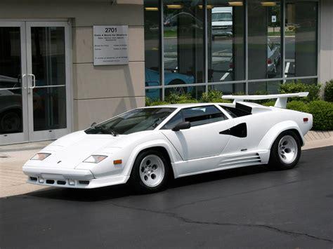 White Lamborghini Countach For Sale Lamborghini Countach Image 2
