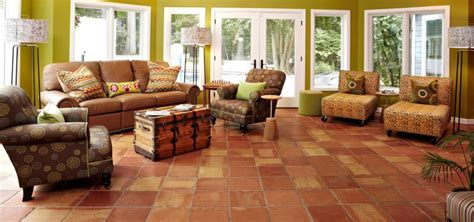 Tiles In Living Room - saltillo tile in living room and bedroom floors westside
