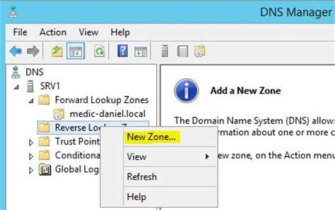 Lookup Zone Server 2012 Erstellen Einer Lookup Zone Auf Einem Windows Server 2012 R2 Medic