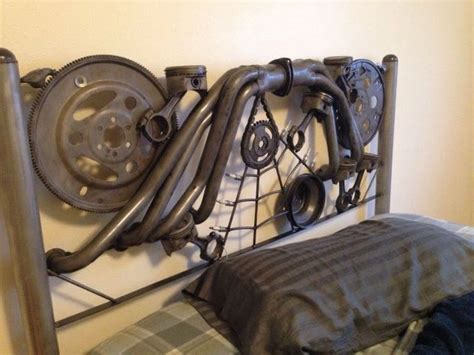 car part home decor custom steunk bed headboard steunk furniture