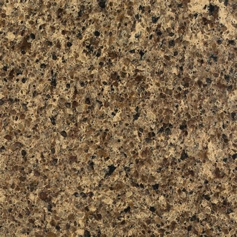 shop allen roth brockeye quartz kitchen countertop sle at lowes com