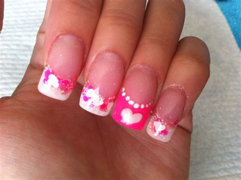 Nail On by Pink Acrylic Nail Designs Trend Manicure Ideas 2017 In