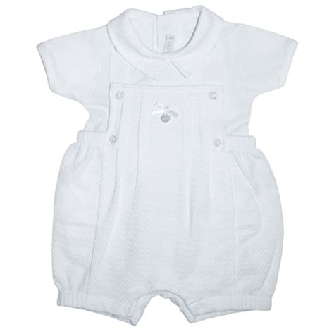 Ccs Baby Set coco boys romper white childrens outlet