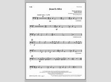 Jesus Is Alive - Cello | Sheet Music Direct Jesus Culture Alive In You Lead Guitar