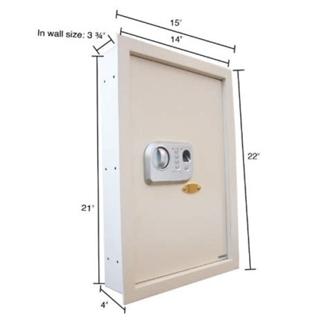 Biometric Cabinet Lock by Fingerprint Access Biometric Wall Safe Cabinet With