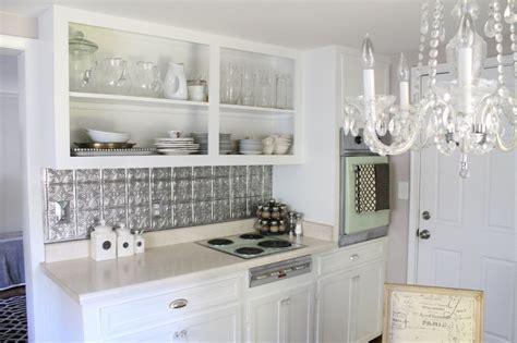 white tin backsplash inexpensive faux tin backsplash elizabeth burns design raleigh nc interior designer