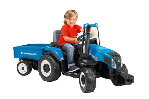 amazon holland amazon com peg perego new holland t8 tractor trailer