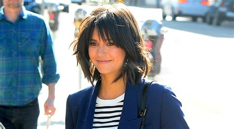 what actress in the 70s started the shag haircut nina dobrev is growing out her bob with this 70s shag cut