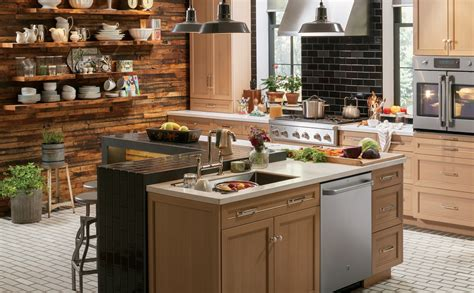 urban kitchen design rustic urban kitchen design photo ge appliances