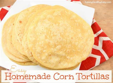 Handmade Tortillas Recipe - corn tortillas healthy easy