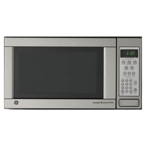 Lowes Microwave Ovens Countertop by Shop Ge 1 1 Cu Ft Countertop Microwave Color Stainless