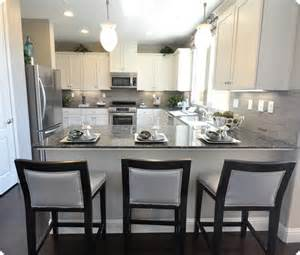 White And Gray Kitchen by Oops I Did It Again Centsational