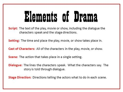 drama film elements elements of drama ppt video online download