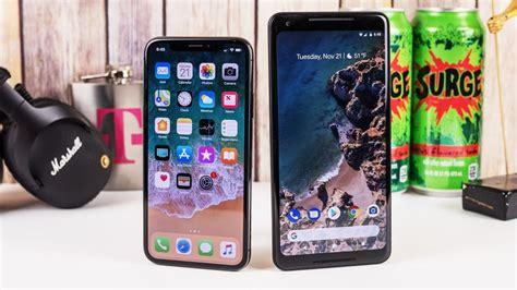 apple iphone x vs pixel 2 xl