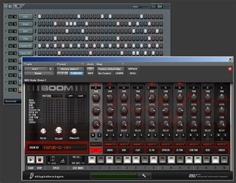 drum pattern sequencer vst trikome 187 control protools boom with flstudio s step