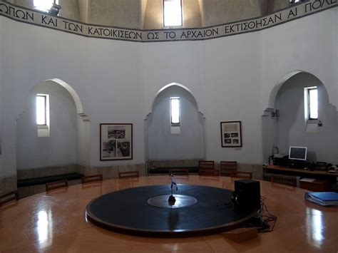 circular room file the conference room of the rockefeller museum 4 jpg wikimedia commons