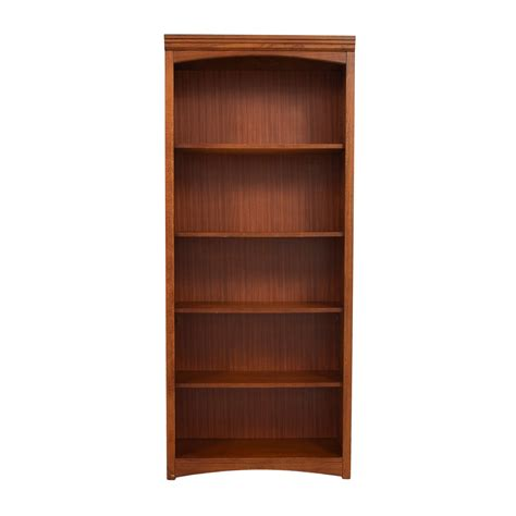 Wooden Bookshelf by 68 Bassett Bassett Wooden Bookshelf Storage