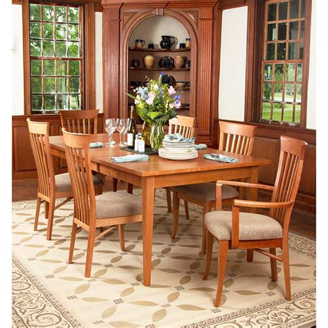 Shaker Dining Room Table Classic Shaker Dining Table Vermont Woods Studios