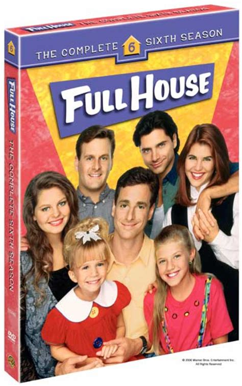 Full House Dvd News Season 6 Artwork Tvshowsondvd Com