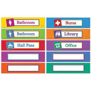hallway pass school daycare