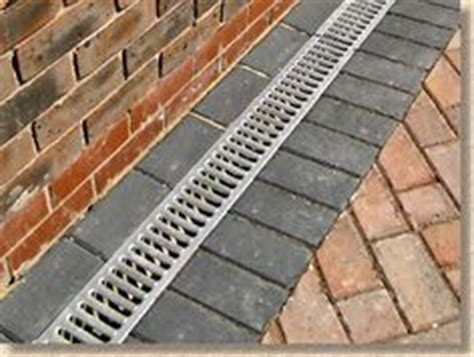 Patio Drainage Channel by Made In The Usa Iron Age Designs 5 Quot River Rock Trench