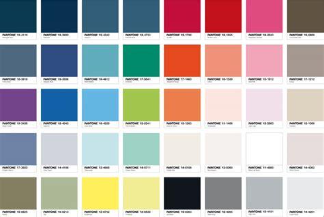 Palette Pantone by Pantone Et Tollens Une Belle Collaboration