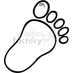 royalty free childs footprint 157625 vector clip art image