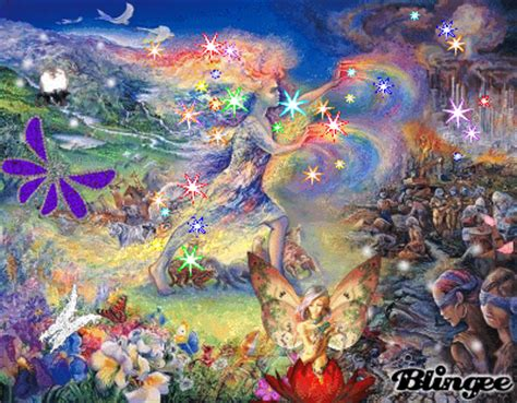 Rainbow Wall Mural rainbow fairyland picture 50106098 blingee com