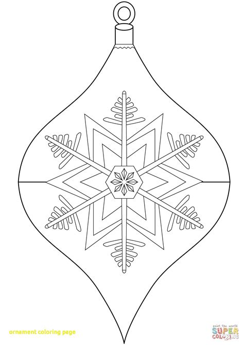 Coloring Pages For Ornaments by Ornament Coloring Page Wkwedding Co
